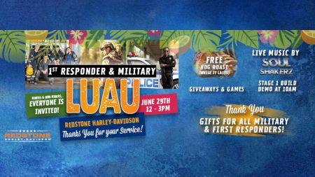 1st Responder/Military Appreciation Luau