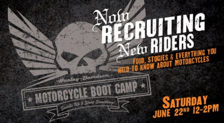 New Rider Motorcycle Boot Camp!