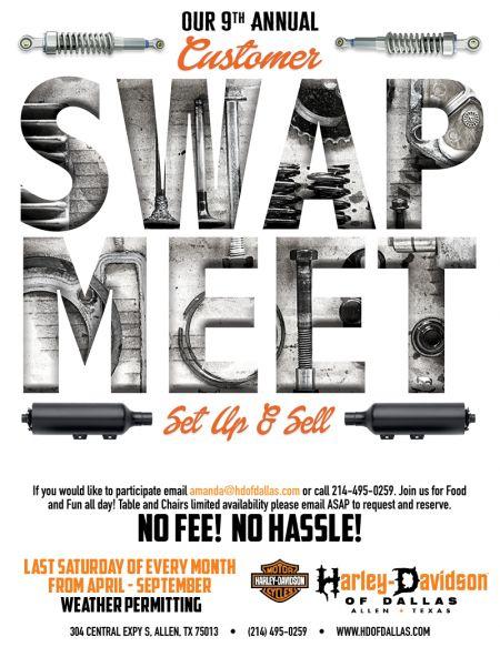 Free Vendor Swap Meet!