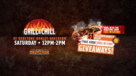 Grill & Chill at Redstone Harley-Davidson®
