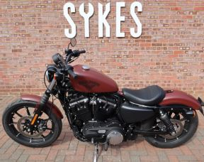 2018 Harley-Davidson XL883N Sportster Iron 883, Full Stage One, in Red Iron Denim
