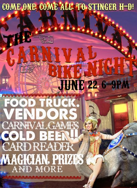 Carnival Bike Night