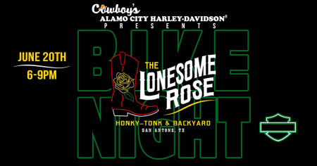 Bike Night at The Lonesome Rose