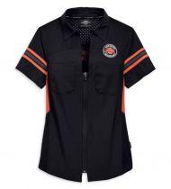 Harley Davidson Performance Mesh Shoulder Shirt