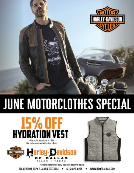 Beat the Summer Heat with 15% off of Hydration Vest.