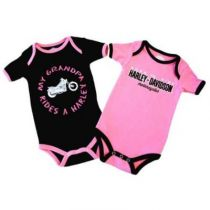 ΦΟΡΜΑΚΙ 1103054 R3/6M Girl Twin Pack Rib Bodysuit