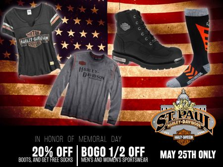 Memorial Day Offers