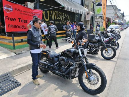Test ride with Richco Demo Tour, Phitsanulok