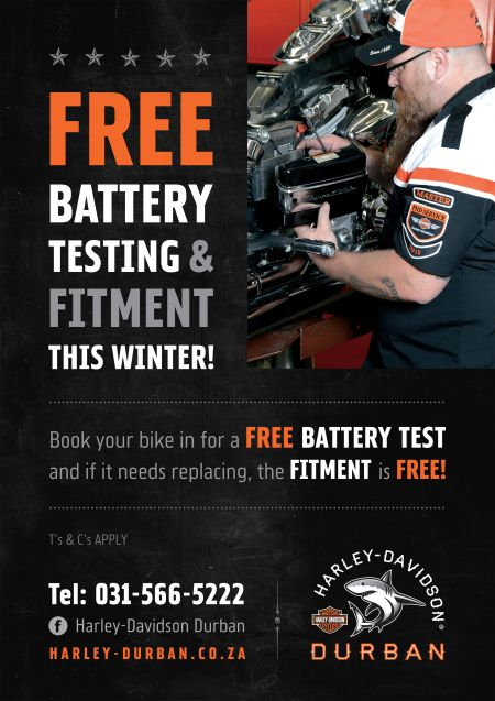 FREE battery testing and fitment this Winter!