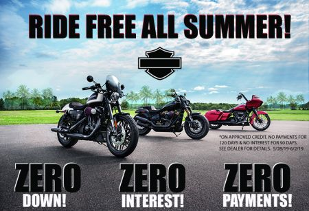 RIDE FREE ALL SUMMER!