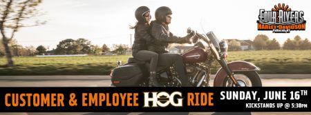 Customer, Employee & HOG Ride!