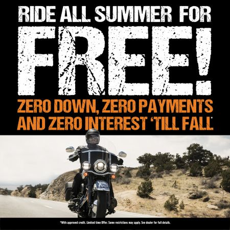 Ride All Summer for FREE!