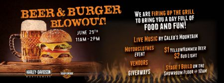 Beer and Burger Blowout!