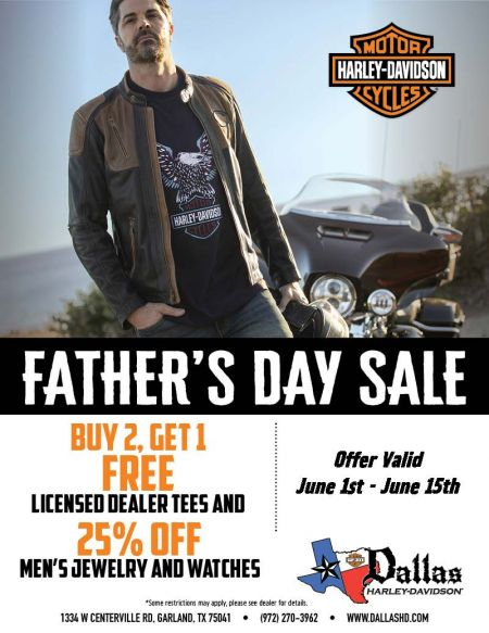 Father's Day Sale 1st-15th