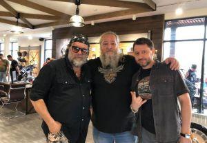 Борис Гребенщиков в Harley-Davidson Казань