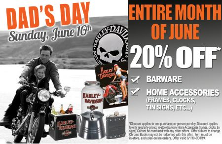 20% OFF* Barware and Home Accessories