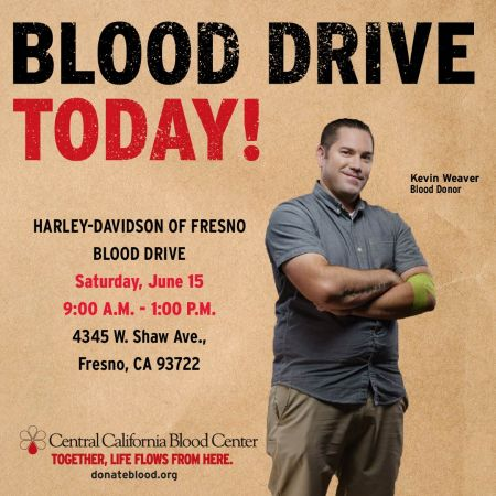Bikers Blood Drive