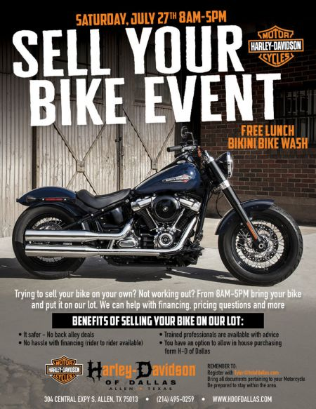 Sell Your Bike Event