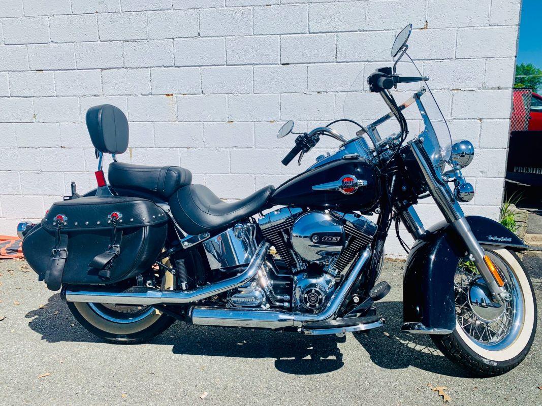 2016 Harley Davidson FLSTC Heritage Softail Classic