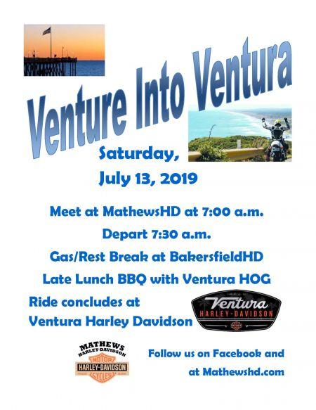 Venture Into Ventura