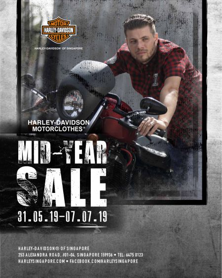 HARLEY-DAVIDSON MOTORCLOTHES MID YEAR SALE 2019