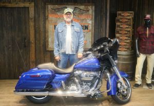 Rodgers new Street Glide!