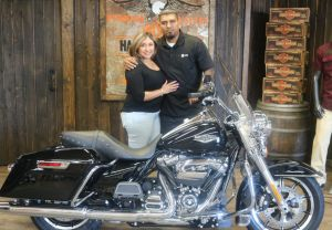 Jorge and Lucys new Road KIng!
