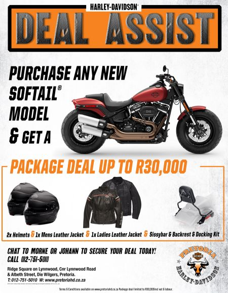 DEAL ASSIST Softail Package Promotion
