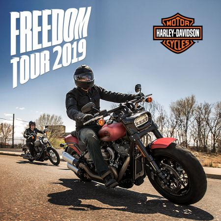 Freedom on Tour 2019.