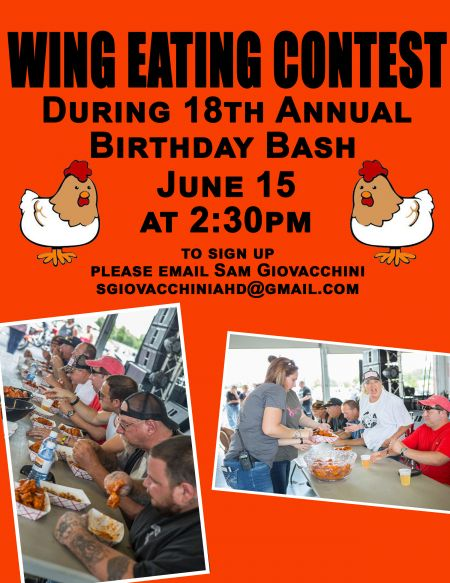 Wing Eating Contest