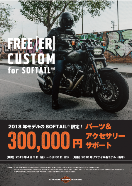 FREE[ER] CUSTOM for  SOFTAIL