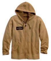 Harley-Davidson® Men's Upright Eagle Slim Fit Zippered Hoodie