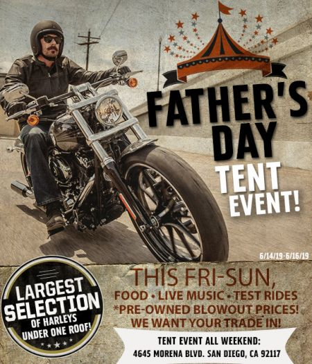 Father's Day Tent Event!