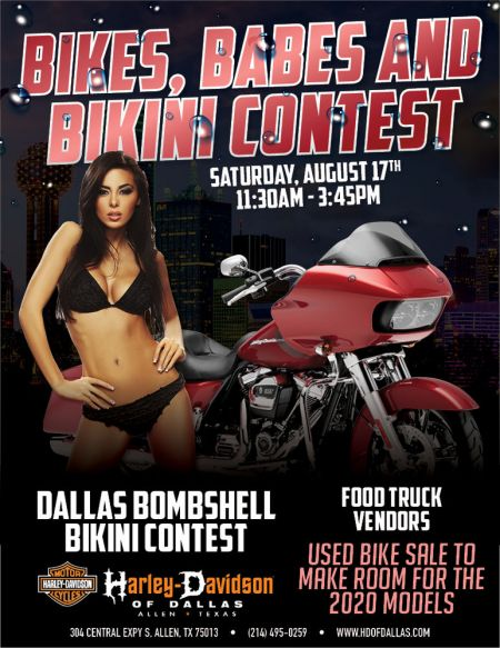 Bikini Contest at H-D of Dallas