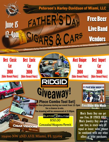 Father's Day Cigars & Cars
