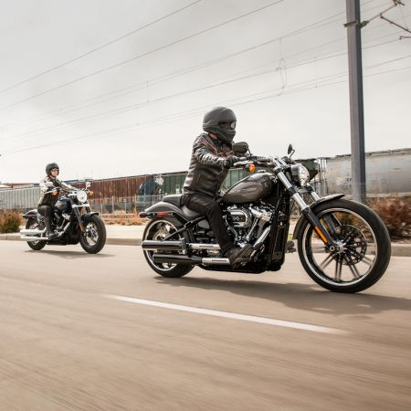 Get on a Breakout® motorcycle for as low as $293 per month.