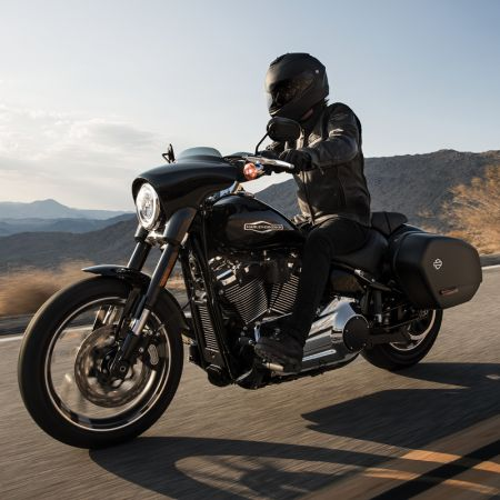 TAKE THE RIDE OF YOUR LIFE. RIDE OUT ON A 2019 SPORT GLIDE® MOTORCYCLE FOR AS LOW AS $262/MONTH*