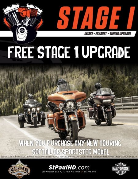 FREE Stage 1 upgrade with new bike purchase!