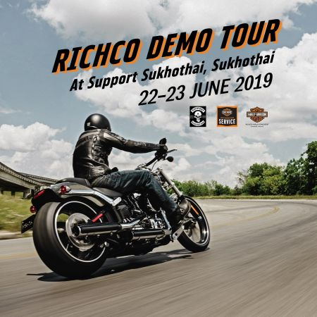 Richco Demo Tour at Support Sukhothai