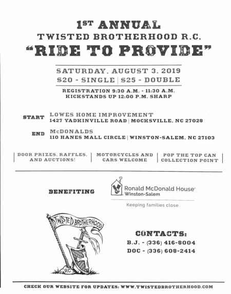 1st Annual Twisted Brotherhood R.C.