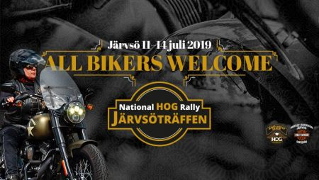JÄRVSÖTRÄFFEN 11-14 JULI 2019 National HOG Rally