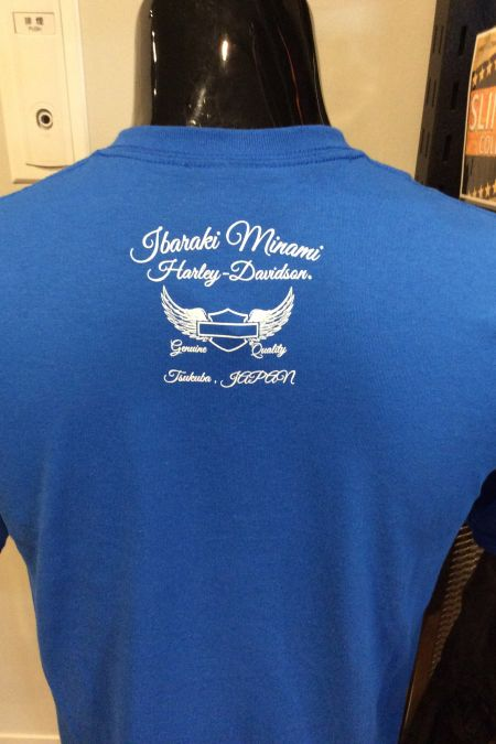 追記Tシャツ 背中のデザインです!!