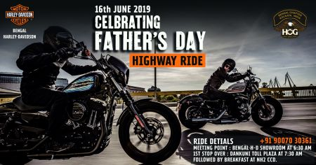 Father's Day Ride - 16th June 2019
