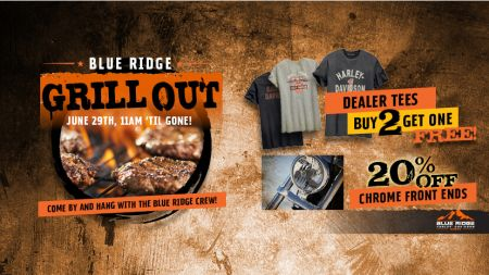Blue Ridge Grill Out