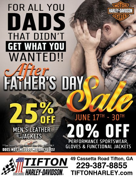 After Father's Day sale!
