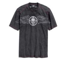Tricou WINGED SKULL