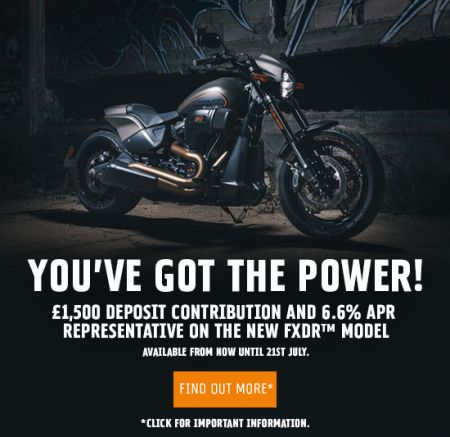 £1,500 DEPOSIT CONTRIBUTION AND 6.6% APR REPRESENTATIVE ON THE NEW FXDR™ MODEL