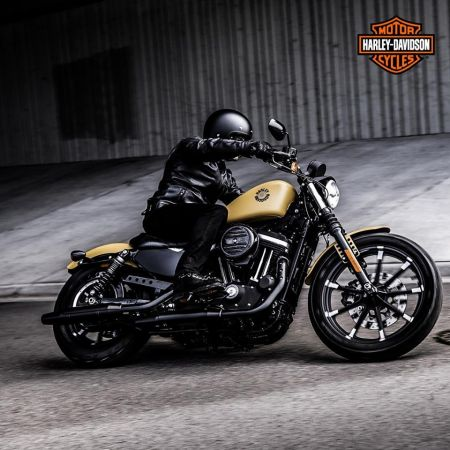 THE IRON 883™, NOW WITH £800 OFF FOR A LIMITED TIME ONLY.