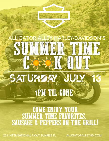 Summer Time Cook Out