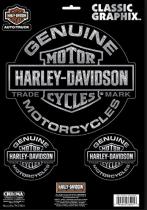 Harley-Davidson Trademark Classic Graphix 9 x 13
